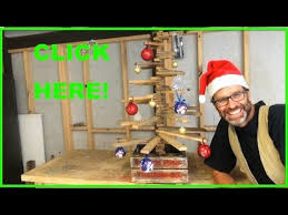 Awesome Christmas Tree From Scrap Wood