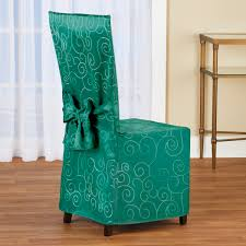 Scroll Patterned Elegant Dining Chair Cover Jf Chair Covers Excellent Quality Chair Covers Delivered 15 Inexpensive Ding Chairs That Dont Look Cheap How To Make Ding Slipcovers Tie On With Ruffpleated Skirt Canora Grey Velvet Plush Room Slipcover Scroll Sure Fit Top 10 Best For Sale In 2019 Review Damask Find Slipcovers Design Builders