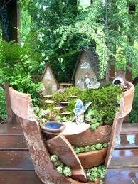 Good Fairy Garden Plants Amazing Miniature Design With Patio Furniture And Lights Best Indoor
