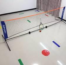 3 1 1 5 m tragbare verstellbare badminton net mit