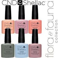 Cnd Uv Lamp Canada by Shellac Uv Color Coat Spring 2015 Flora U0026 Fauna Collection