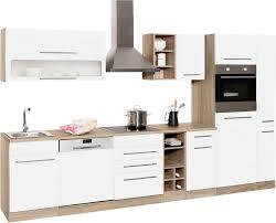 held möbel küchenzeile eton mit e geräten breite 330 cm kaufen otto