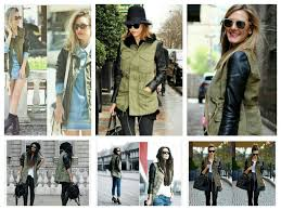 military jacket with faux leather sleeves sewloveable