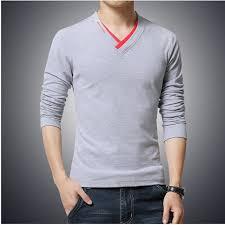 Zembo Wear Full Sleeve V Neck T Shirt