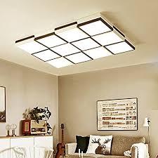 lemumu rechteckig wohnzimmer le led deckenleuchte licht