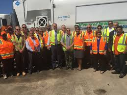 100 Trash Trucks In Action City Opens New Facility To Power With Cleaner Fuel