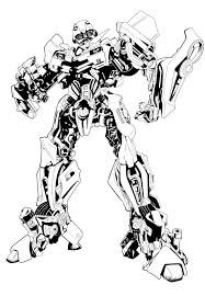 Transformers Coloring Pages Bumblebee And Transformer Page Glum Me