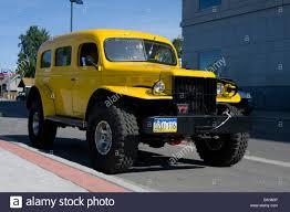 100 Crazy Truck Yellow Crazy Car Monster Truck Fairbanks Alaska Stock Photo