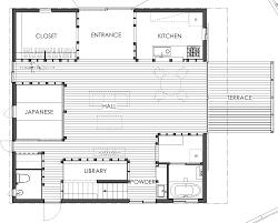 104 Japanese Modern House Plans Small Design Ksa G Com