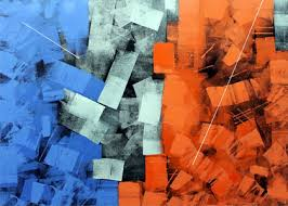 Good Abstract Painting For Home Decoration By Indian Artist Sudhir Talmale