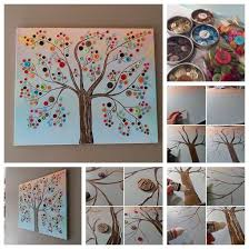 Awesome Tree Wall Art Step By 57 For Your With