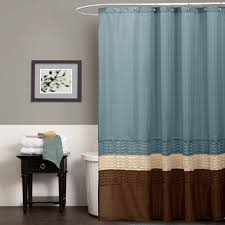 Blue And Brown Bathroom Decor by Teal And Brown Shower Curtain U2013 Aidasmakeup Me