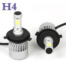 s2 h4 cob led headlight hi lo beam car auto bulb for chevrolet