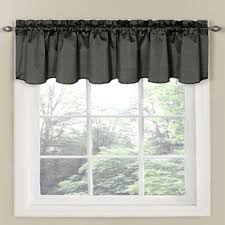 Bed Bath And Beyond Curtains And Valances by Buy Charcoal Curtain Valance From Bed Bath U0026 Beyond