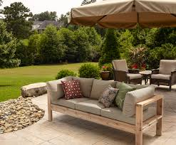 ana white outdoor sofa from 2x4s for ryobi nation diy projects