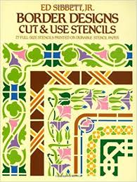 Buy Border Designs Cut Use Stencils Dover Book Online At Low Prices In India