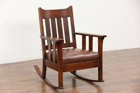 SOLD - Arts & Crafts Mission Oak Rocker, 1905 Antique Craftsman ... Vintage Studio Made Rocking Chair For Sale At 1stdibs Wooden Upholstered Platform Rockers Antique Chairs 1900s All Modern Or Spring Rocking Chair Collectors Weekly Antiques Restoration 1878 Glider 10 Steps With Bentleys Fniture Of Closed Attic Midcentury Rattan For Sale Pamono Teetertot Wooden Toy Vintage Nursery Rocker Etsy Childs Spring Rocker Red Find Fniture From All Eras Arriving Daily At New Uses Rare The Oldest Ive Ever Seen Parker Knoll 1960s Design Market
