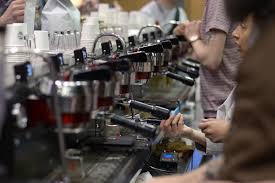 Sprudge Joanna Han SBCC 2014 Synesso 9 Group Espresso Machine 04