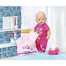 Zapf Creation Baby Born Jumpsuit Set Pink 4piece InternetToys