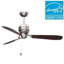 Hunter Contempo 52 Ceiling Fan Manual by Ge Pierson 52 In Led Indoor Brushed Nickel Ceiling Fan With