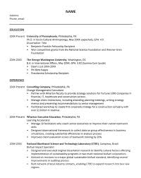 PhD Student And Postdoc Resumes Humanities Social Sciences