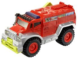 Amazon.com: Matchbox Power Shift Fire Truck: Toys & Games