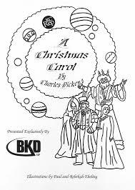 Christmas Carol Coloring Pages Coordinizecom
