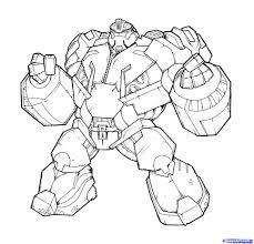 Dessin De Coloriage Transformers à Imprimer CP26362