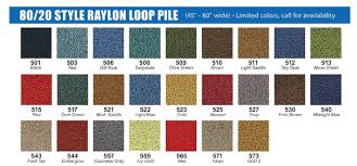 100 Ford Truck Colors Molded Carpet For 1953 1956 Your Choice Of Color