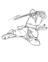 Ninja Coloring Pages Free 20 Page