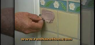 Drilling Small Holes In Porcelain Tile by How To Fill And Repair Holes In Ceramic Tile Construction