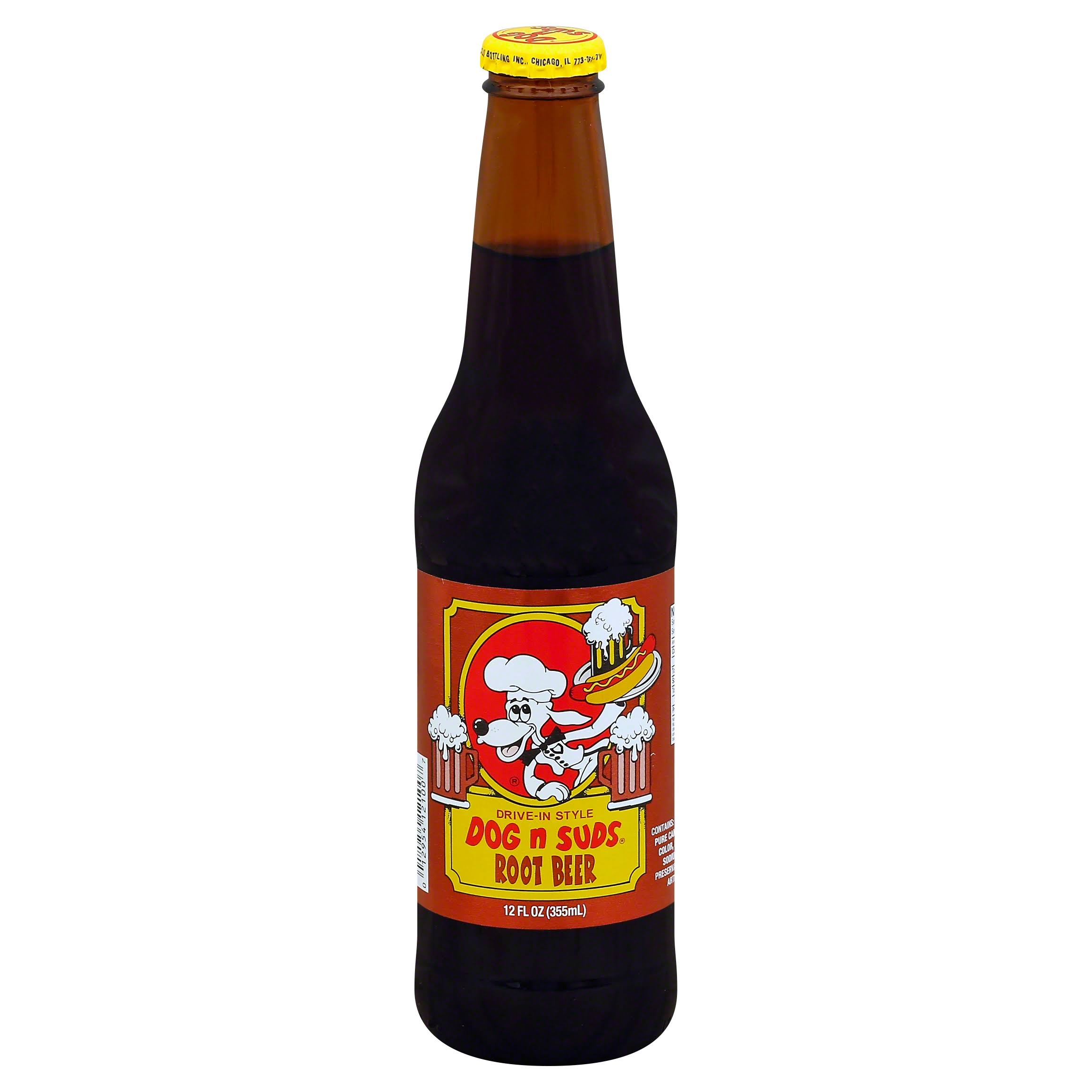 Dog N Suds Root Beer - 6 Bottles, 12floz