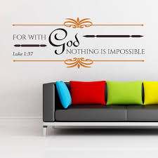 Luke 137 Bible Verse Wall Decal