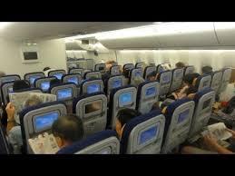 Inside Lufthansa Boeing 747 8i Hong Kong Frankfurt
