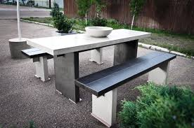 Image Of Modern Outdoor Picnic Table