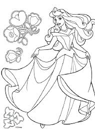 Disney Princess Printable Coloring Pages Plus Free For Make Inspiring