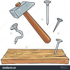 Nails Clipart Carpenter Tool 1