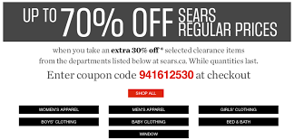 Sears Canada Black Friday 2015 Pre-Sale: Save Up To 70% Off ... Searsca Canada Promo Codes Get 20 Off When You Spend 100 Sears Refrigerator Filter Coupon Student Ubljana Davis Vision Code Wicked Ticketmaster 7 Aspects To Consider While Formulating Affiliate Paid Frigidaire Dehumidifier Target Desk Coupons Coupon Search Crafts For Kids Using Paper Plates Rfd Bella Terra Movie Canada November 2018 Candlescience How Get Sprint Bill Off Credit Publix Pillsbury October Mr Gattis Current Coupons