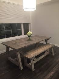 Rustic Kitchen Tables Best Design Plain Charming Ideas On