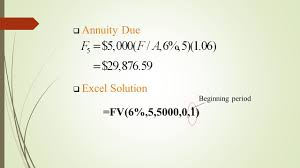 Sinking Fund Annuity Calculator by Interest Formulas U2013 Equal Payment Series Ppt Video Online Download