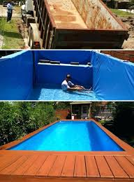 Diy Above Ground Pool 7 Swimming Ideas And Designs From Big Builds To Weekend Projects
