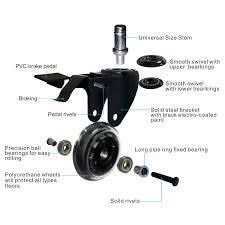 AGPTEK Office Chair Casters Heavy Duty With Screwdriver, Safe Roller ... 5pcs 40kgscrewuniversal Mute Wheel 2 Replacement Office Chair Naierdi 5pcs Caster Wheels 3 Inch Swivel Rubber Best Casters For Chairs Heavy Duty Safe For Use Probably Perfect Of The Glider Youtube Universal Office Chairs Nylon 5 Set Agptek With Screwdriver Roller Lounge Cheap Rolling Modern No 2pcs Replacing Part Twin Rotate Amazoncom Rolland Oem Stem Uxcell Black Fixed Type