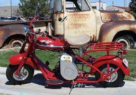 Motor Scooter Picture Of A 1952 Cushman Eagle