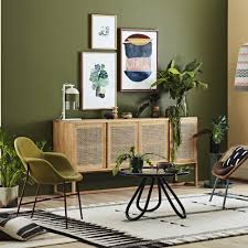 voici plus beaux salons verts à copier décoration