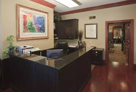Tomb Law Office Reception Area After