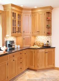 kitchen corner cabinet styles thinking about the little shelves