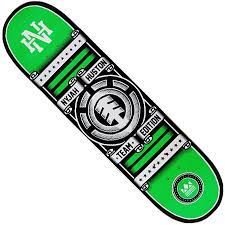 element nyjah huston rollin deck in stock at spot skate shop