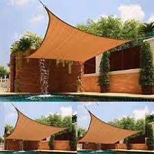 UV Sun Shade Outdoor Sun Screen Portable Fabric Awning Pool Patio