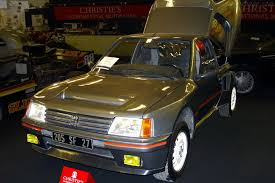 1984 Peugeot 205 T16 Specifications and Information