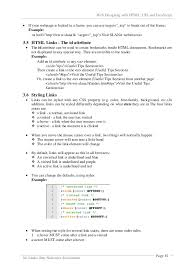 19 Web Designing With HTML